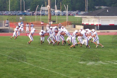 2001 Varsity Football vs. Huber Heights Wayne (Scrimmage)