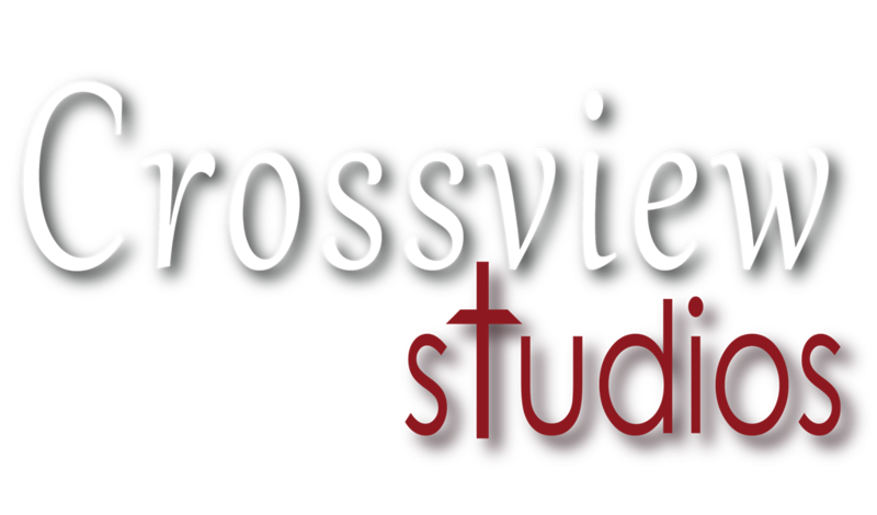 CrossView Studios - Logo 01 with drop LG White.png