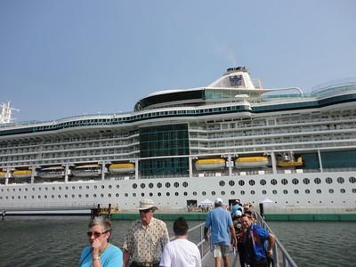 May 9 - Ship  (Guatemala Stop in Separate Gallery)