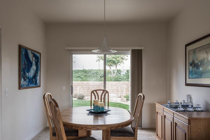 Dining Room with Patio Door!