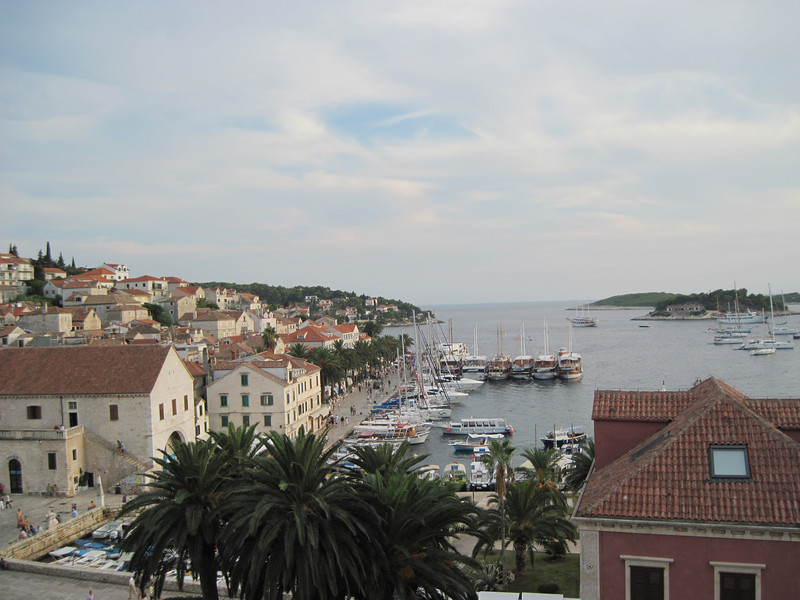 View from Hotel Park room...Hvar town