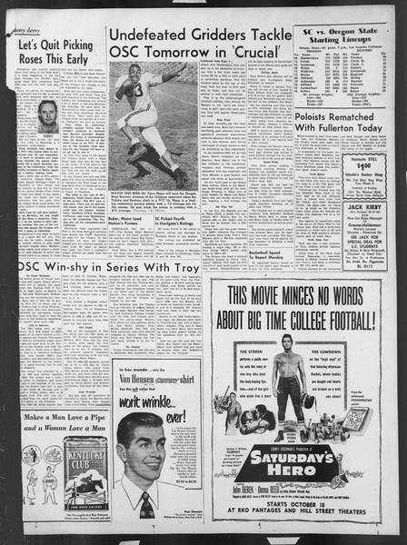 Daily Trojan, Vol. 43, No. 20, October 12, 1951