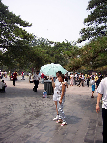 Forbidden City, April 2004 & June 2005
