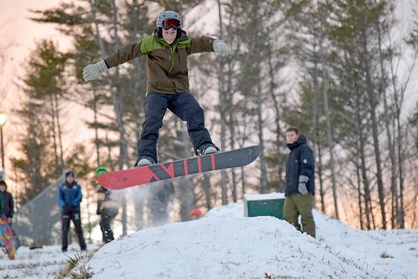 Snow Fun on Clancy Hill