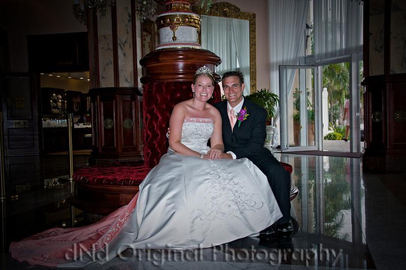 097 Wedding & Dinner - Heather & Justin In Lobby vig.jpg