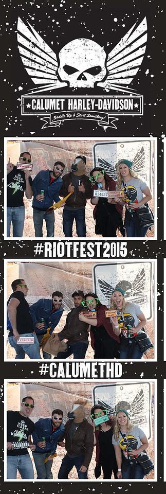 Calumet Harley Riot Fest Day 2