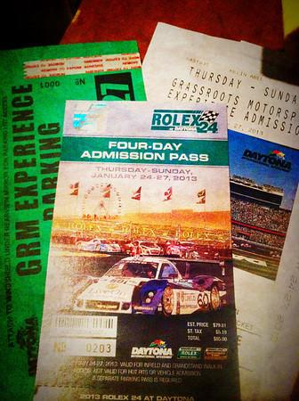 2013 Rolex 24hr at Daytona