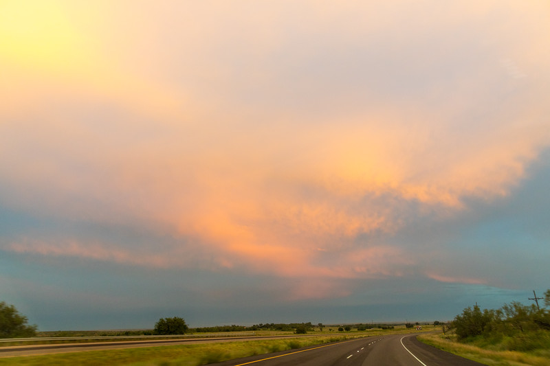 East of Amarillo.  Couple hours from home now.  Long trip, but so worth it.