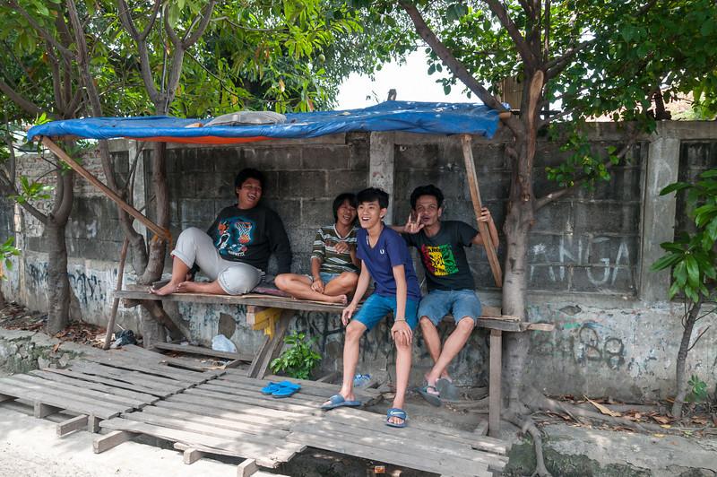 Along Jalan Kali Besar Timur