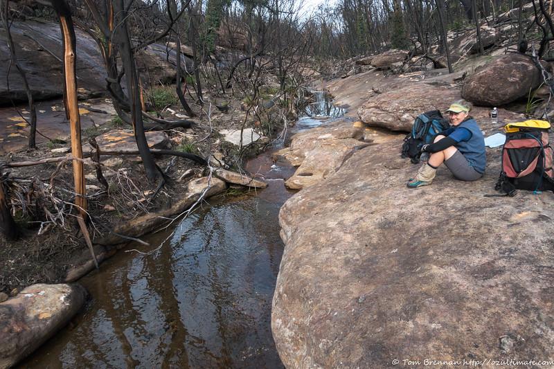 Lunch spot in Moore Creek