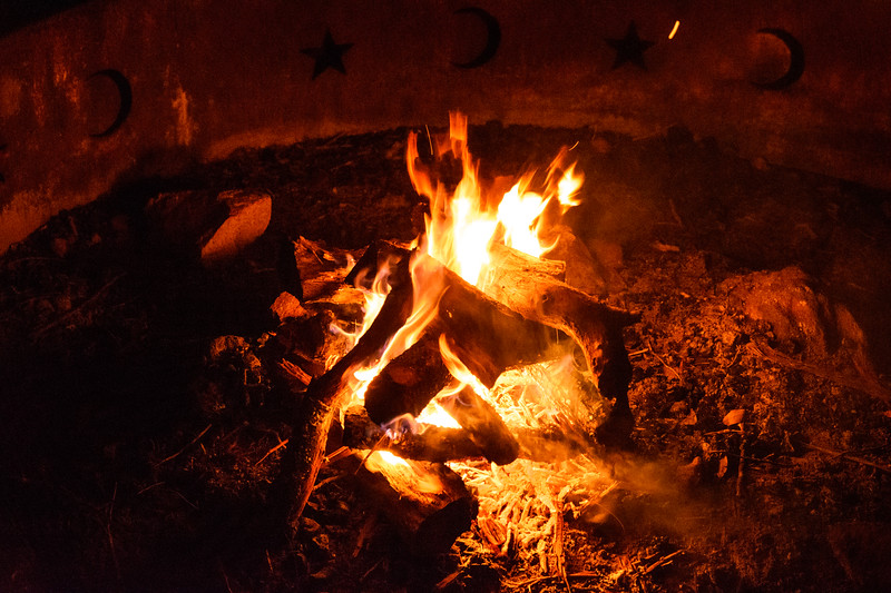 InksLakeStatePark-Campfire1
