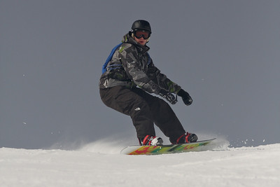 Telluride Snowboarding<br>February, 2010
