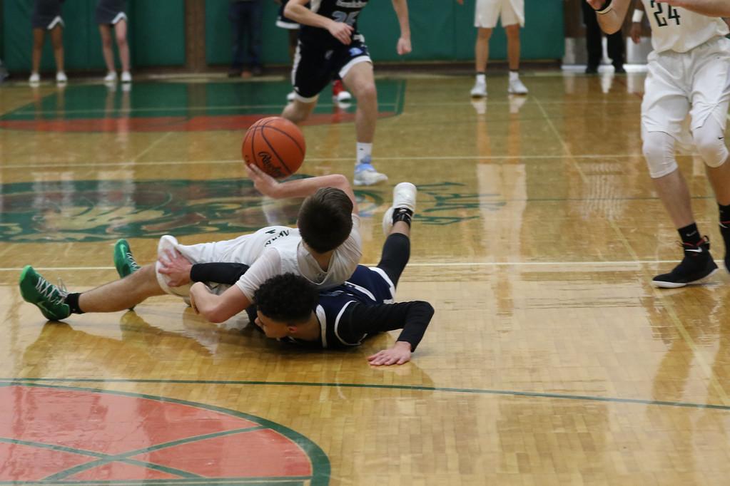 . 2018 - Basketball - Benedictine at Lake Catholic.  Benedictine defeated Lake Catholic 63-56.