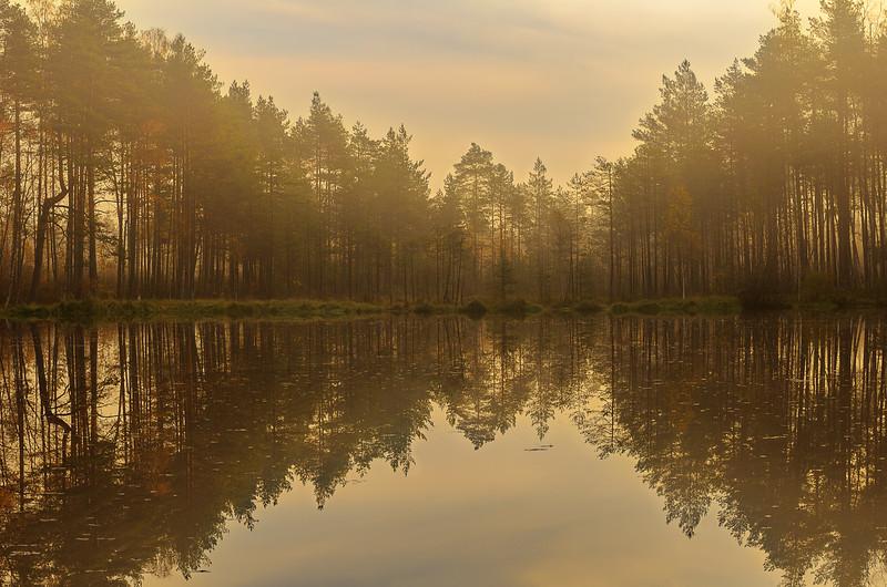 Quiet morning in October