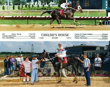 CHELSIE'S HOUSE - 7/03/1999