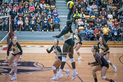 Bison Women's Volleyball vs MacEwan Griffins Nov. 17 & 18, 2017