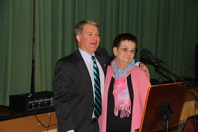 Linda Yulanavage Receives Citation from Senator Dave Argall, Community Dinner, Hometown (4-24-2014)
