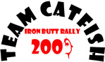 Catfish 2009 Iron Butt Rally Logo - IBR