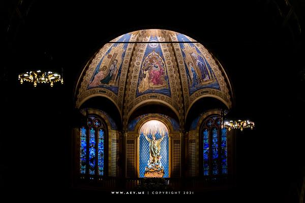 Assumption Cathedral, Bangkok (Interior)