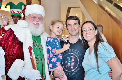 Santa's Arrival event 2017
