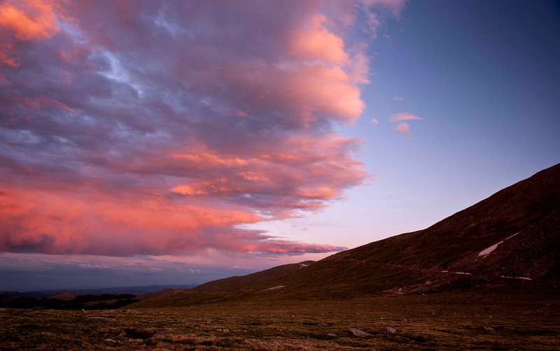 Sunset sky - near Echo Lake