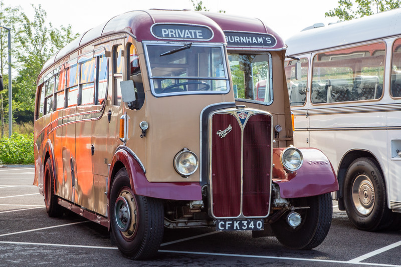1948 AEC Regal III with Burlingham body