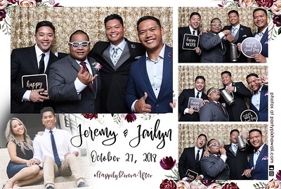 Jeremy & Jailyn's Wedding (Mini Open Air Photo Booth 2)