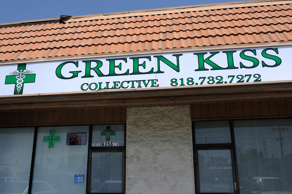 . Green Kiss Collective on Vineland Avenue in North Holywood, CA 5/23/2013(John McCoy/L.A. Daily News)