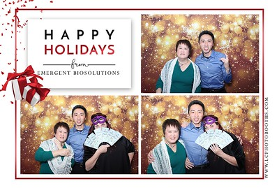 Emergent Biosolutions Holiday Party 2020