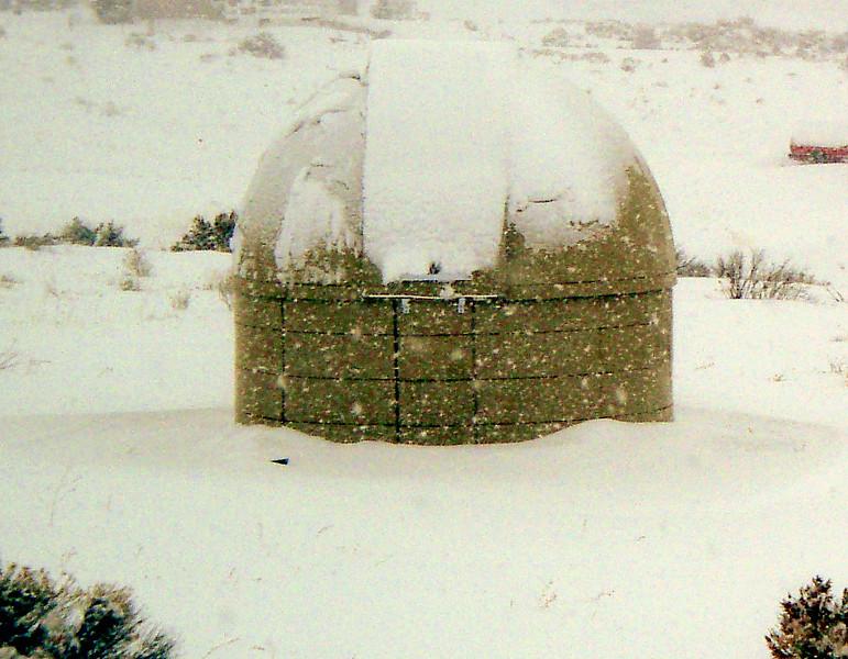 An Idaho winter storm