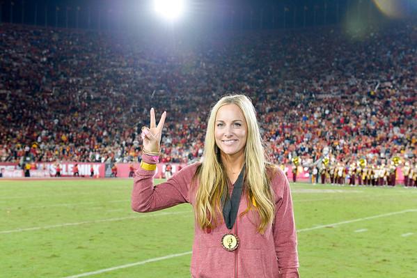 USC v Arizona - HoF Introductions