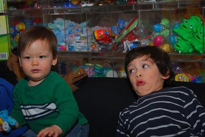 Dylan & Skylar--April 2011