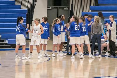 DHS Girls Basketball 12-10-2018