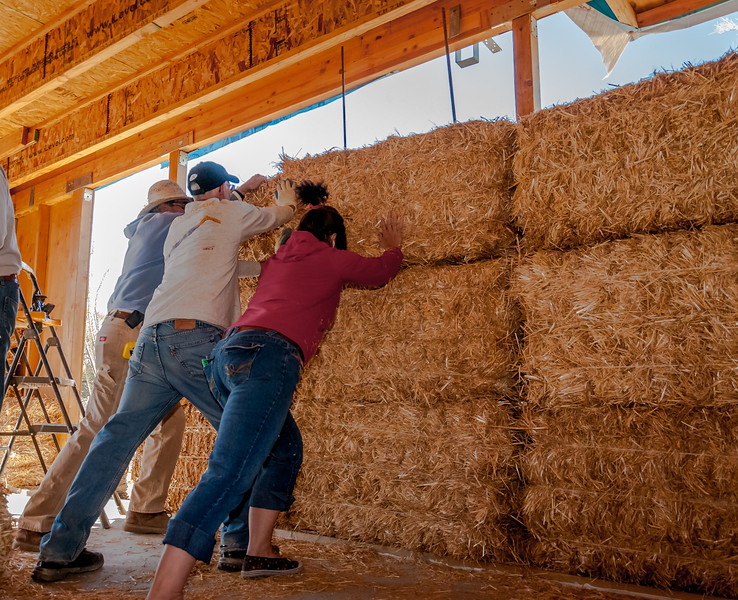 Positioning a Bale