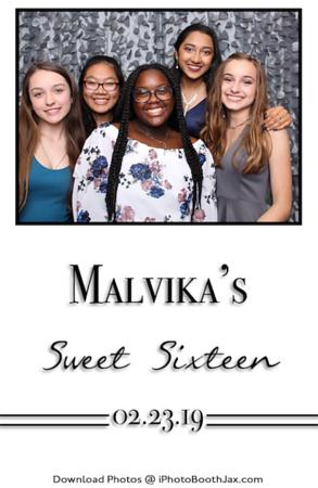 Malvika's Sweet Sixteen
