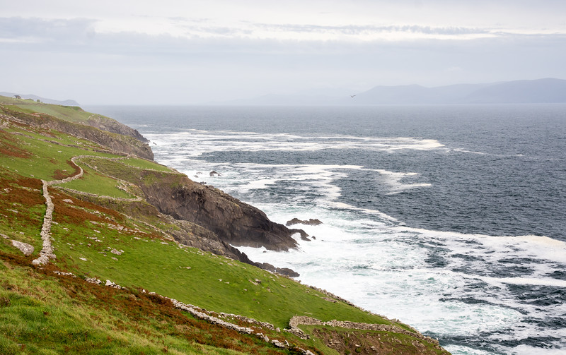Dingle bay cliffs