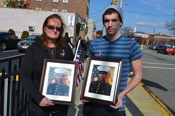 North Arlington, NJ United States Marine Lance Corporal  Osbrany Montes De Oca