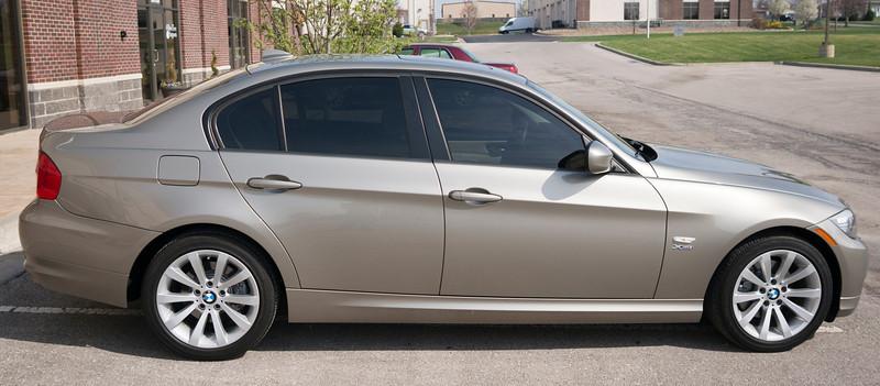 2012 BMW 3 Series Window Tint