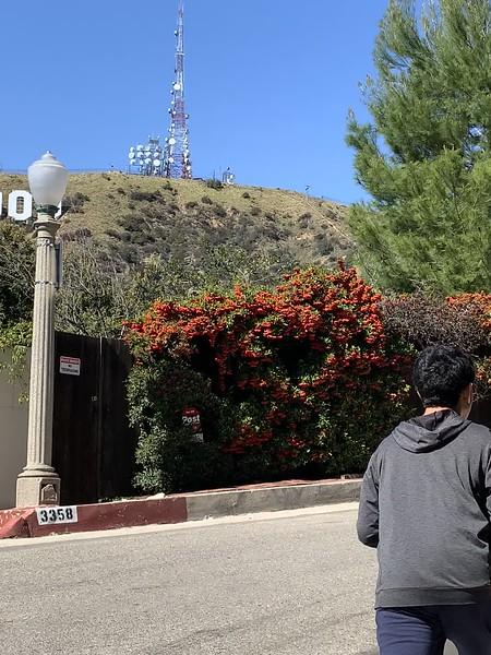 2020.03.21 Hollywoodland hike