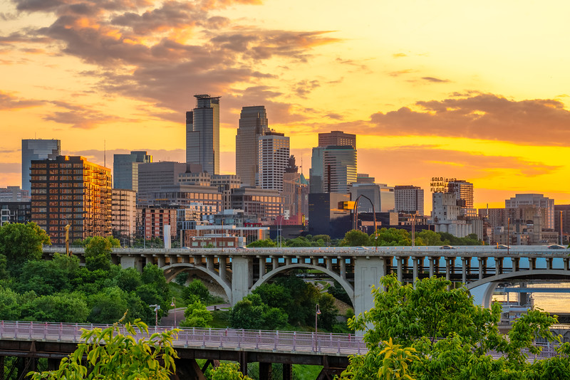 2019 Minneapolis Sunset