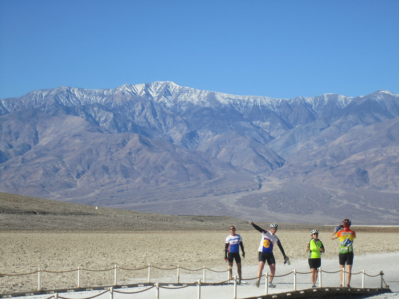 Bad Water Basin (-226') with Telescope Peak (11,000') in the background