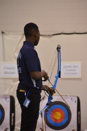 Danville HS Archery Tournament 2015
