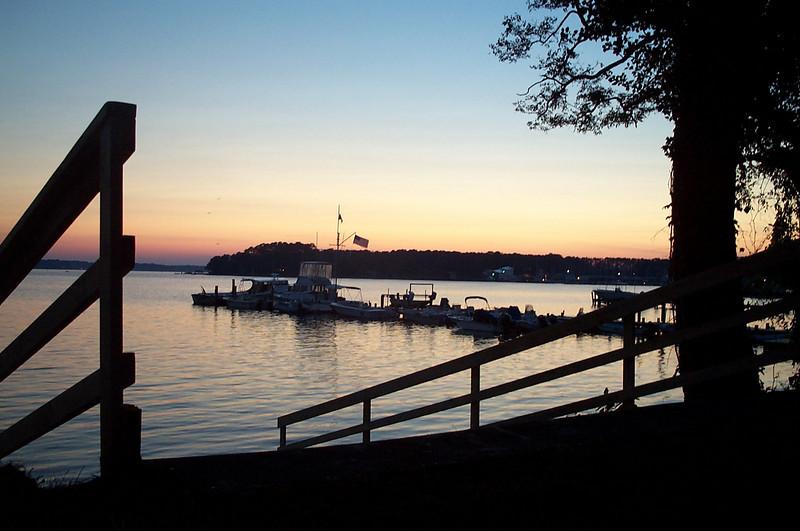 Sunset on Fishing Bay Dock