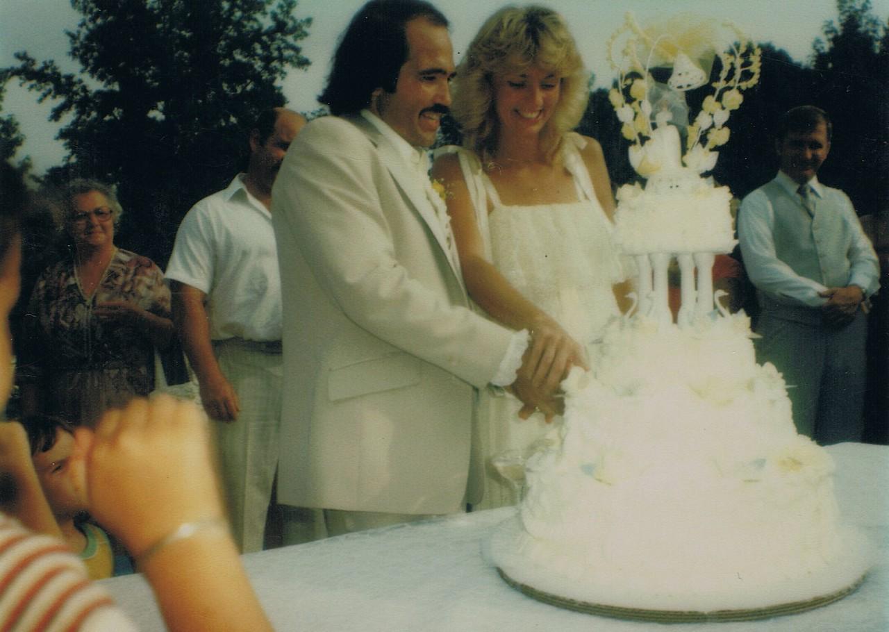 Erna and Len Wedding<br /> Aug 29, 1981