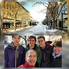 2018-01-14 UVM College Visit Burlington Winter Snow V(1) The Five Seasons Wyatt Dad Mom Raf Friend X