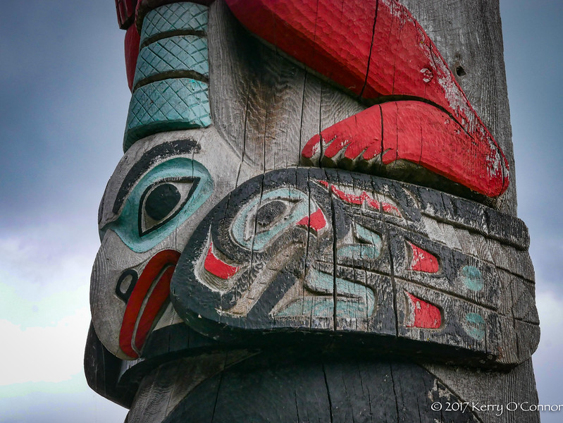 Totem Pole - Eagle