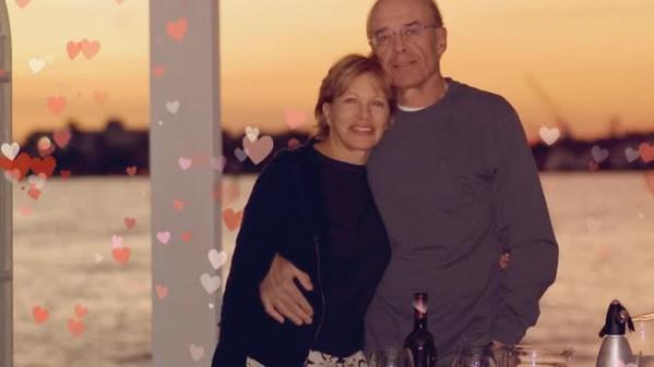 Happy Anniversary, Lor and Alberto!
