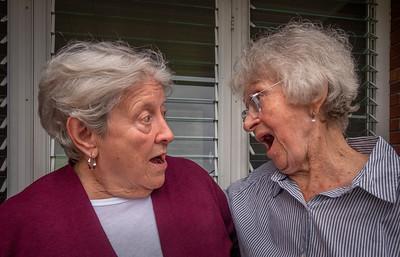 Barb, Baba at Ross & Carol's