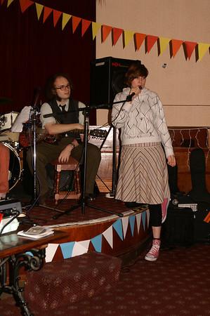 OxJam gig, 2 December 2007 Bristol County Social Club