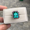 11.77ct Tourmaline Halo Ring by Leon Mege, AGL Cert 41